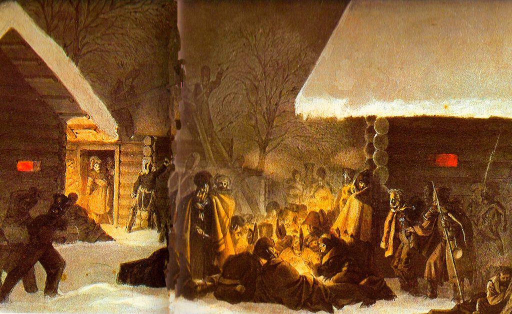 26-28 novembre 1812 - La Bérézina
