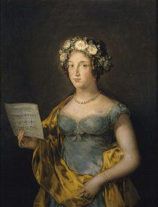 Portrait de la duchesse d'Abrantès par Goya