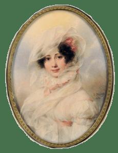 Portrait de Catherine Bagration par Isabey