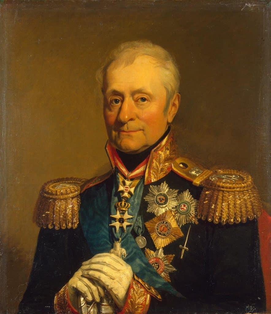 Portrait de Leonty L. Bennigsen (Levin) (1745-1826) - George Dawe