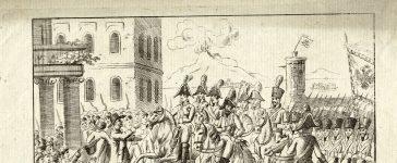 Entrée de Bianchi à Naples en 1815
