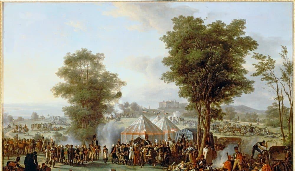 Mongin - Bivouac de Napoléon à Ebersberg