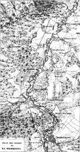 Carte des environs de Studianka