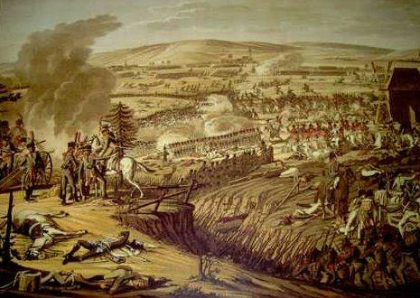 La bataille d'Iéna