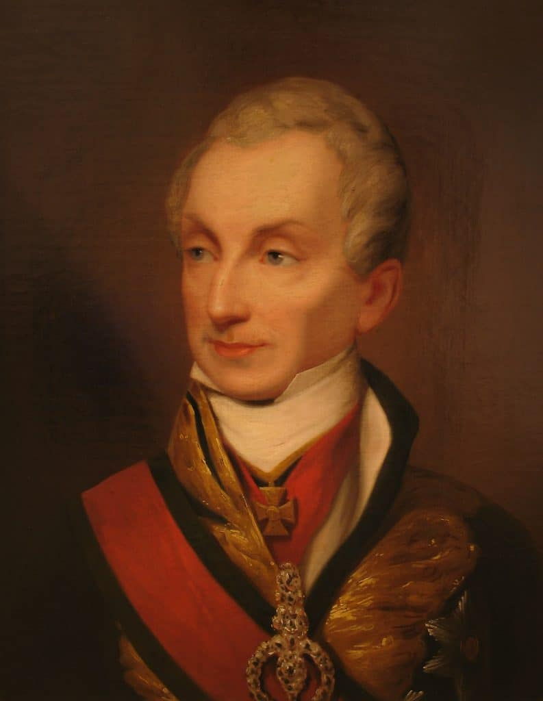 Portrait de Metternich. Artiste inconnu. HGM Vienne