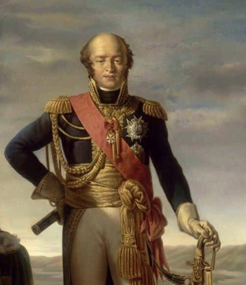 Le maréchal Louis Nicolas Davout, prince d'Eckmüh