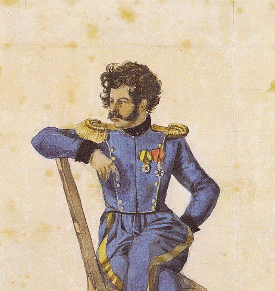 Les livre de dessins, version de Leipzig - Portrait