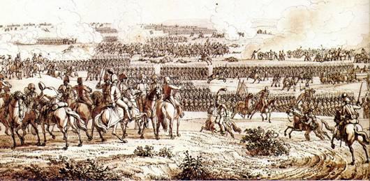 Le maréchal Davout à Auerstaedt