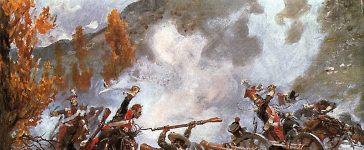 La bataille de Somosierra