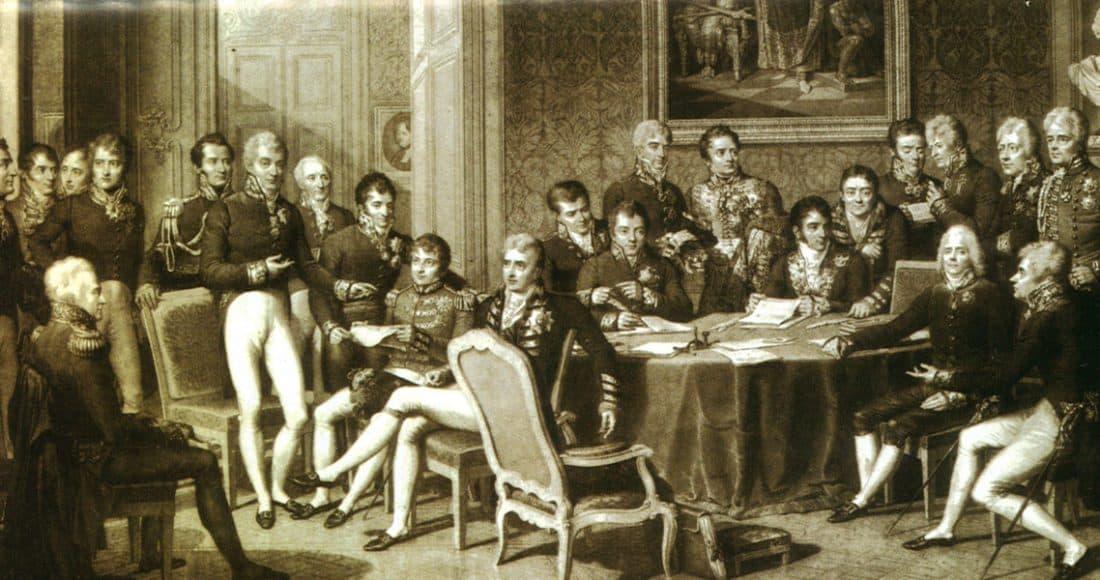 Le congrès de Vienne (Isabey)