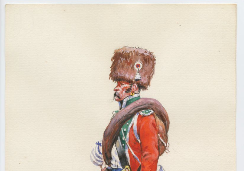 Le 15e léger en 1809 -Leroux
