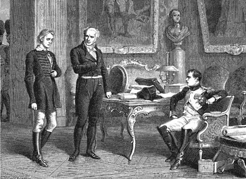 L'interrogatoire de Staps, en présence de Corvisart. Artiste inconnu