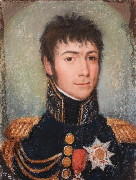 Le grand-maréchal Bertrand.(Musée de Chateauroux)