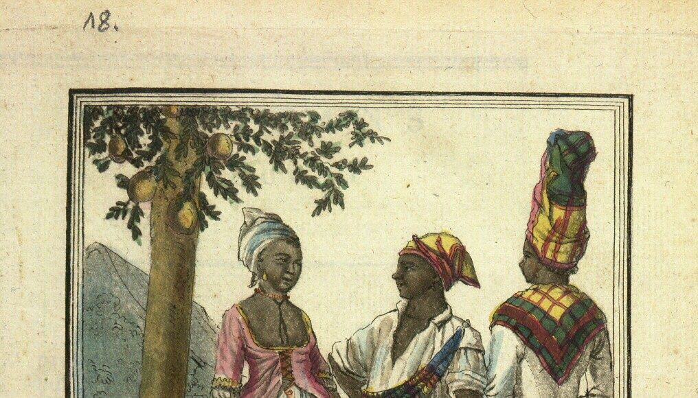 Danses indigènes à Saint-Domingue (Gallica)
