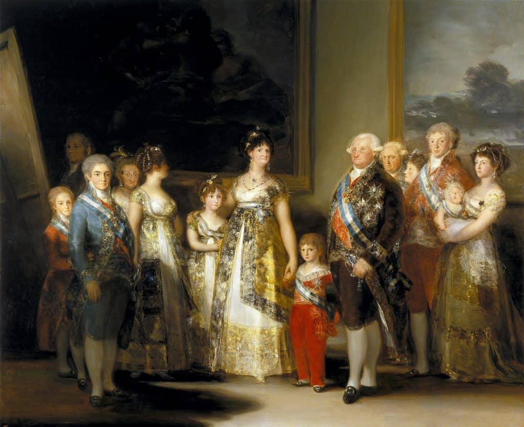 Charles IV et sa famille - Goya