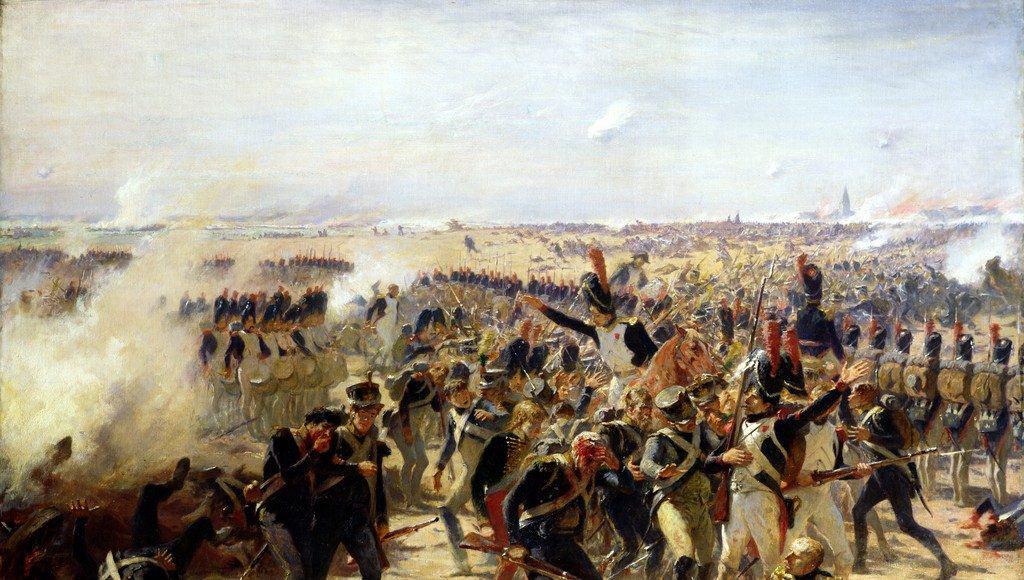 La bataille d'Essling - Fernand Cormon - Musée des Beaux-Arts de Mulhouse.