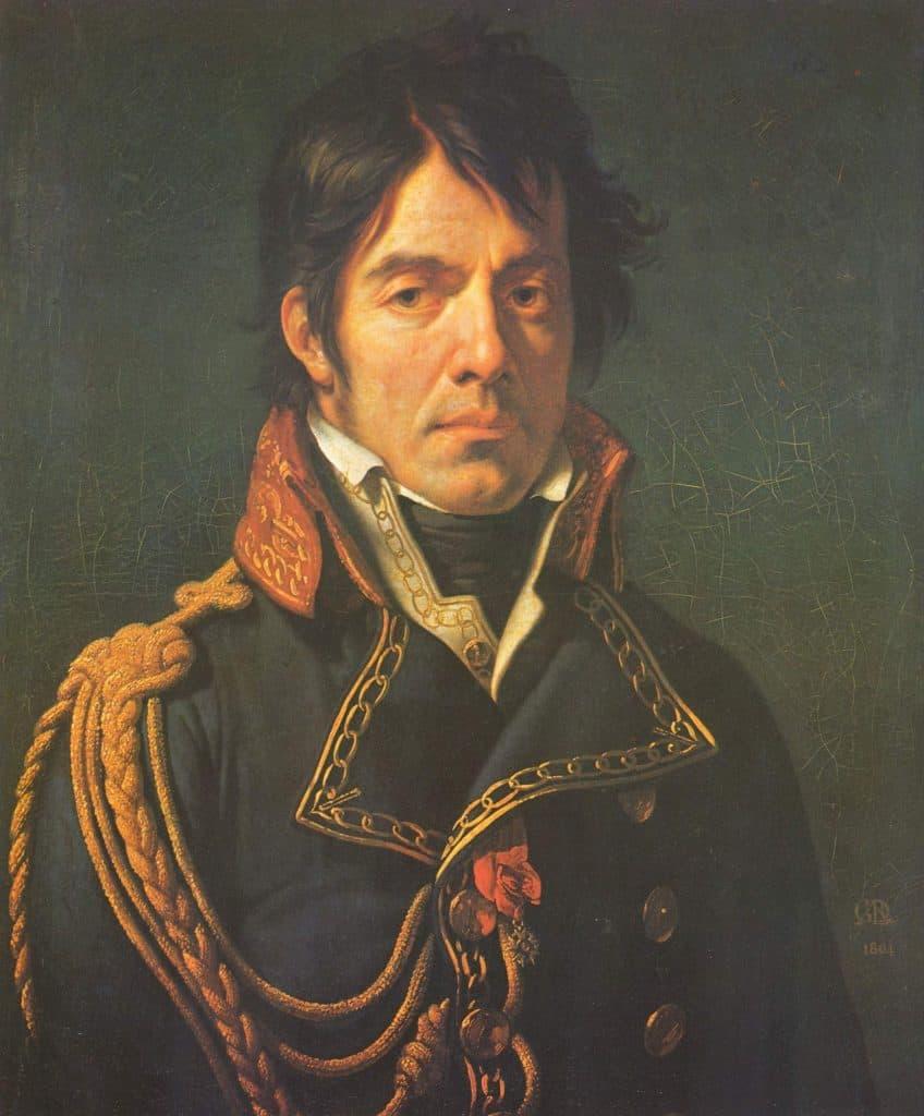 Dominique Larrey. Portrait de Girodet. Base de données Joconde
