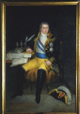 Portrait de Godoy