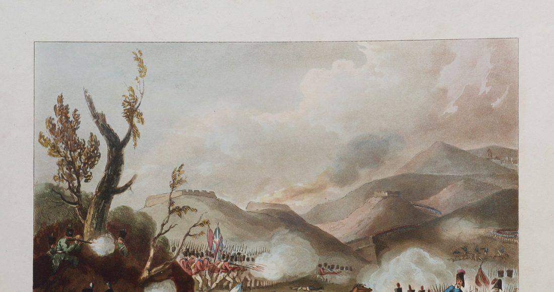 Le régiment de Prusse à Bussaco