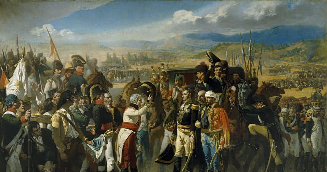 Castanos reçoit la reddition française à Bailen