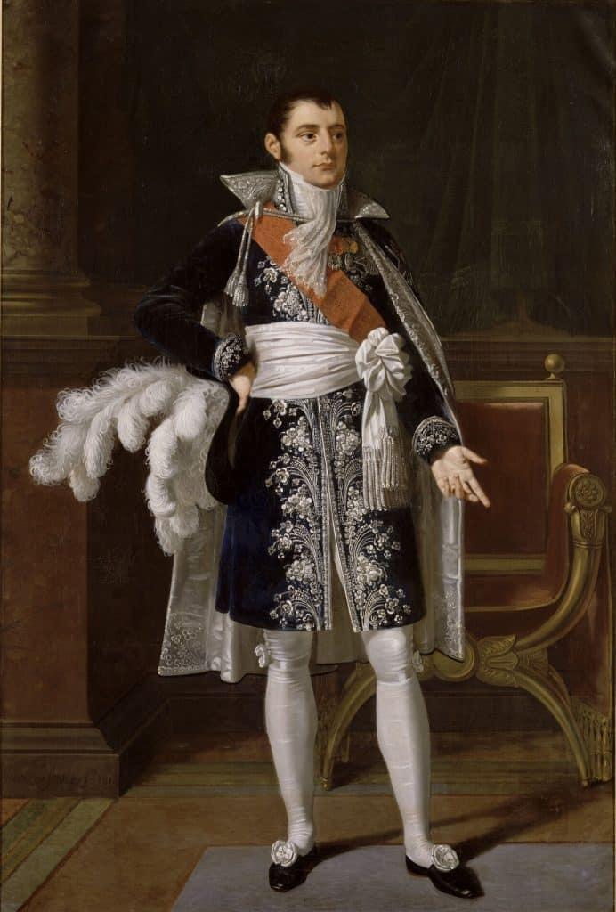 Portrait de Savary - Robert Lefèvre. Base de données Joconde