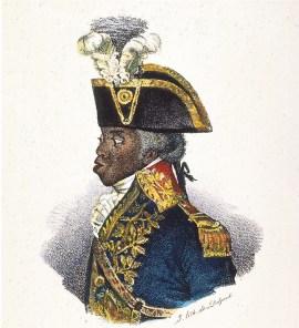 Portrait de Toussaint -Louverture