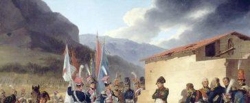 Bataille de Tudela Huile sur toile de Janvier Suchodolski, 1827 Musée national de Varsovie