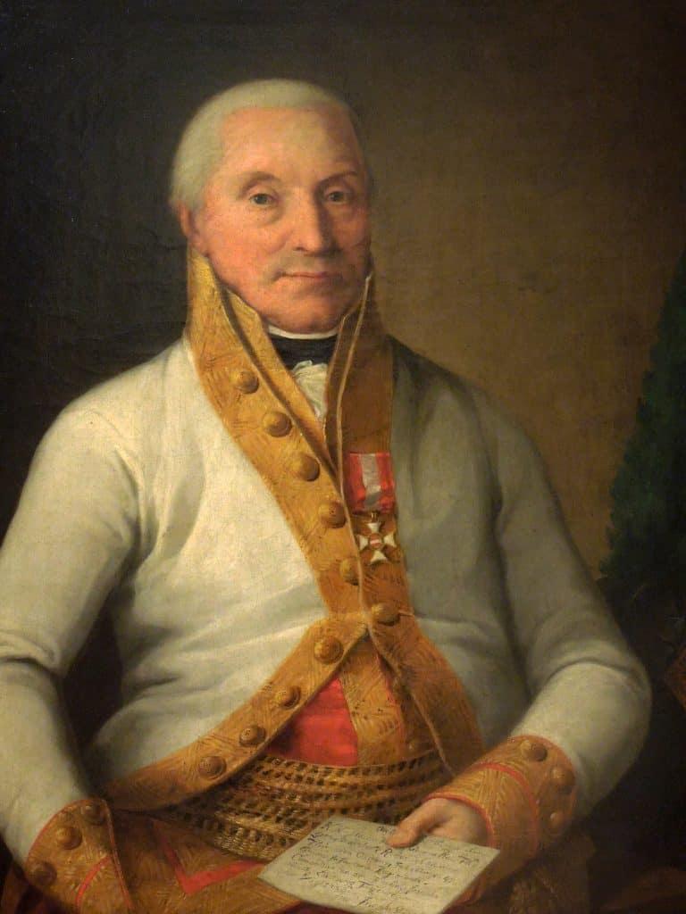 Portrait du General Ludwig von Vogelsang (1810-1811) - Joseph Bergler der Jüngere -(Ablakok)