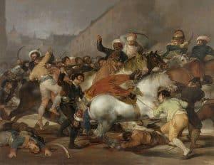 Le Dos de Mayo - Goya