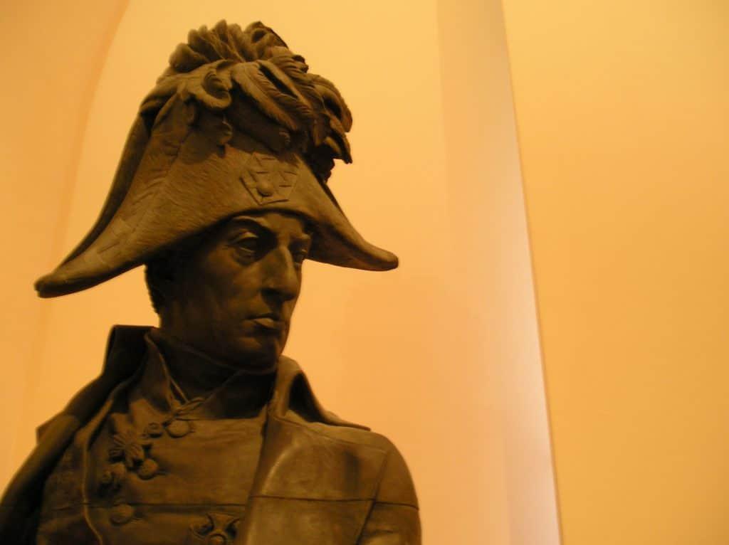 Buste de larchiduc Charles. HGM Vienne. Photo Hardy