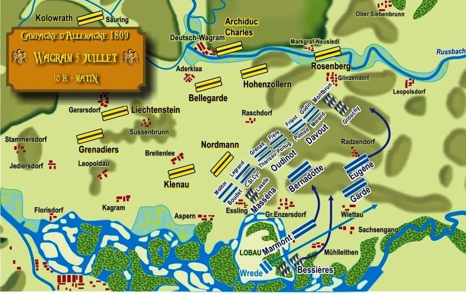 Déploiement des forces françaises le 5 juillet au matin