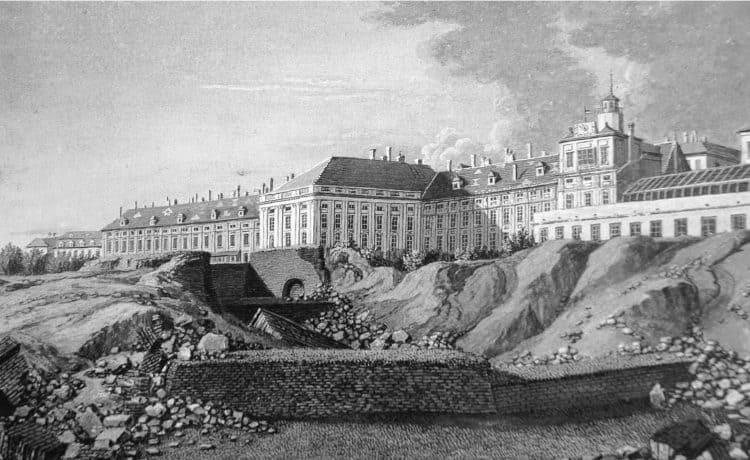 Destruction des remparts de Vienne
