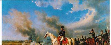 Napoléon à Eckmühl. Albrecht Adam