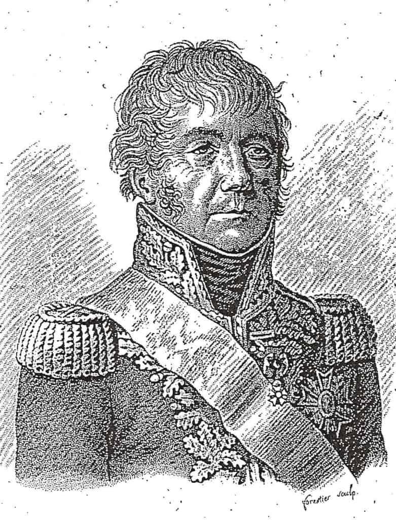 Francois-Joseph Lefebvre. Portraits des généraux francais