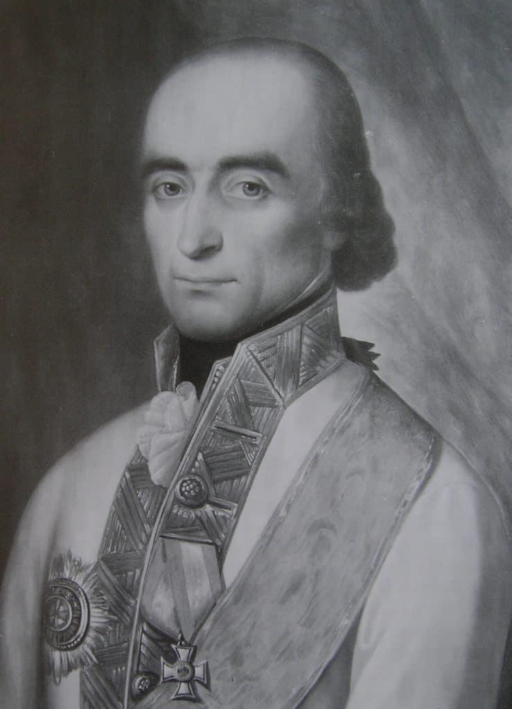 Joseph-Philippe baron von Vukassovich. Archives autrichiennes.