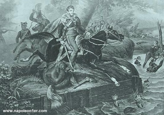 Mort du maréchal Poniatowski