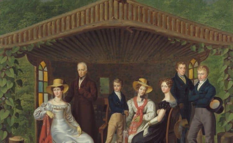 La famille impérialeà la Hofburg