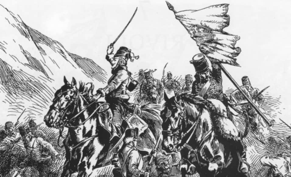 La cavalerie de l'armée d'Italie