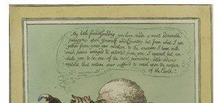 The King of Brobdingnag and Gulliver. Gillray - 1803