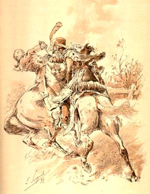 La mort du prince Louis de Prusse