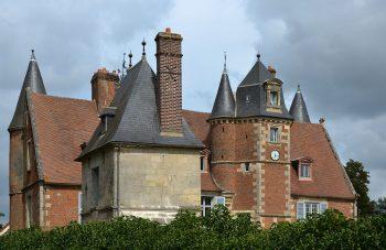 Le château d'Oigny en Valois