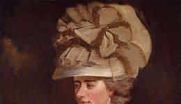 Frances Burney (1752 – 1840) ou Fanny Burney, devenue Madame d'Arblay par son mariage, femme de lettres et romancière anglaise.