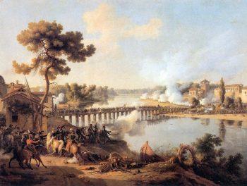 Bonaparte donnant ses ordres à la bataille de Lodi par Louis-François Lejeune.