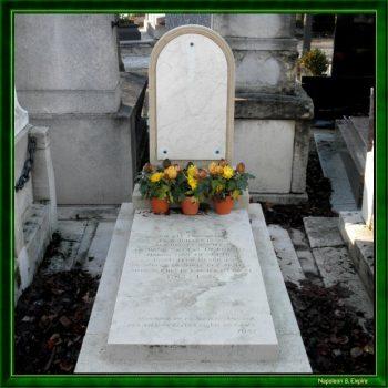 Tombe de Desgenettes au cimetière Montparnasse