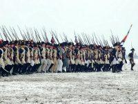 L'infanterie déployée