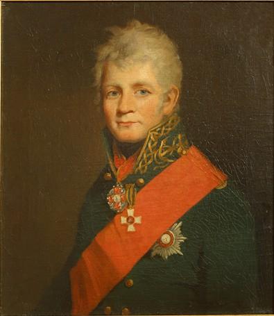 Portrait de l'amiral Tchitchagov par James Saxon (en) (1767-1840)