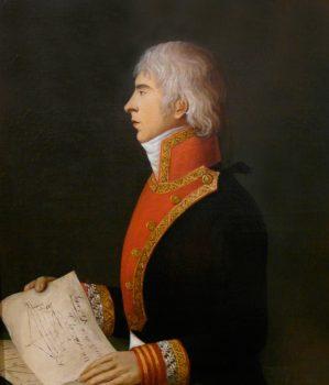 Portrait. Artiste inconnu. Musée naval de Madrid