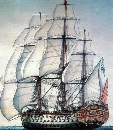 Le Santissima Trinidad (120 canons)