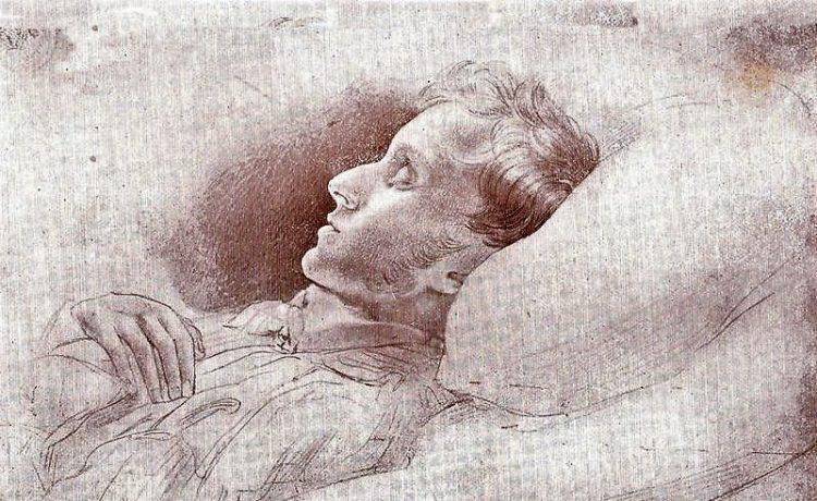 22 juillet 1832 – 5 heures du matin. L'Aiglon, sur son lit de mort