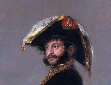 Portrait de Palafox (Goya- détail)